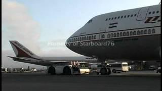 Air India 747 Action at LAX