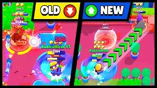 OLD vs NEW! Brawl Stars MAY Balance Changes Comparison