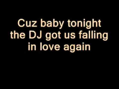 Dj Got Us Falling In Love Again Usher lyrics