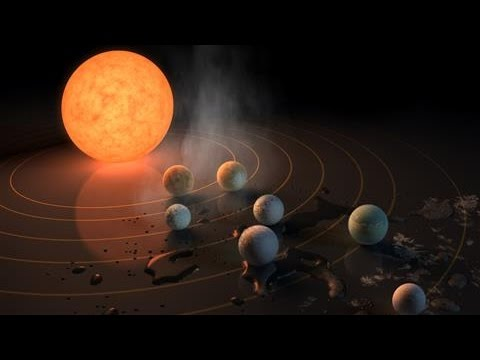 Seven Earth-Size Planets Found Orbiting Nearby Star