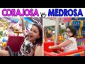 CORAJOSA VS MEDROSA 4 - No Parquinho do Shopping | Luluca