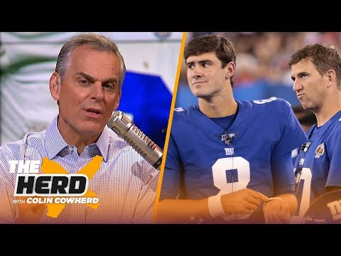 Cowboys have solid foundation despite drama, how Giants are grooming Daniel Jones | NFL | THE HERD