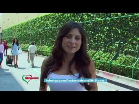 Fiesta Mexicana 2015 | Daniela Noguez ama las playas de México