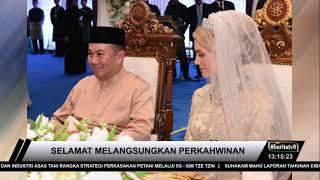 Gambar cover Tengku Mahkota Kelantan Selamat Melangsungkan Perkahwinan