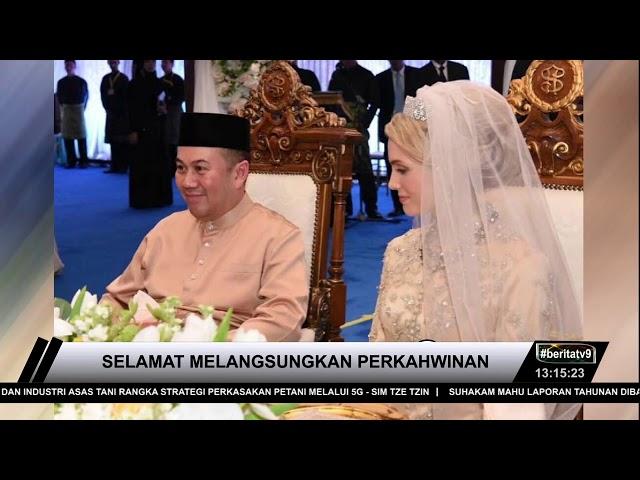 Tengku Mahkota Kelantan Selamat Melangsungkan Perkahwinan