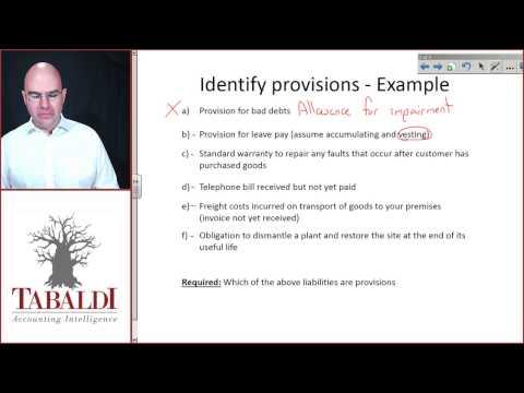 IAS37- Identification of liabilities