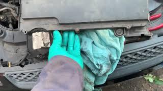 Ford Fiesta 1.4 tdci common diesel leak repair