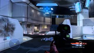 Halo 4 Game Play : Team Infinity Slayer : Skyline - Chris Jones POV