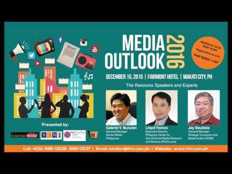 Media Outlook 2016 Radio Ad
