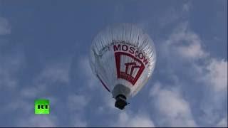 Федор Конюхов отправился в кругосветное путешествие на воздушном шаре