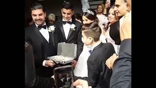Чемодан денег за невесту / Выкуп невесты / Шикарная армянская свадьба в Лос Анджелесе 2018