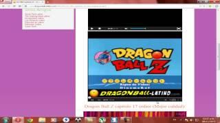 Como ver Dragon ball, Dragon ballz y Dragon ball GT