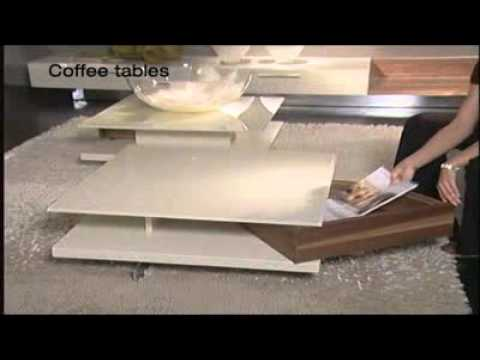 furniture review ct 130 contemporary coffee table by h lsta youtube
