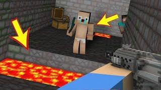 ZENGİN VS FAKİR #45 - Polisler Fakiri Buldu (Minecraft)