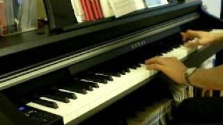 【ロックマン6】Mr.XステージBGM on piano
