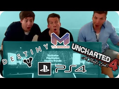 E3 2014 Sony Pressekonferenz - Uncharted 4 & Destiny - The Mansion Stream