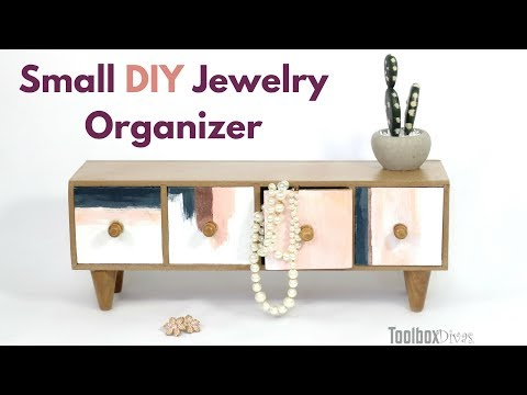 DIY Small Jewelry Box