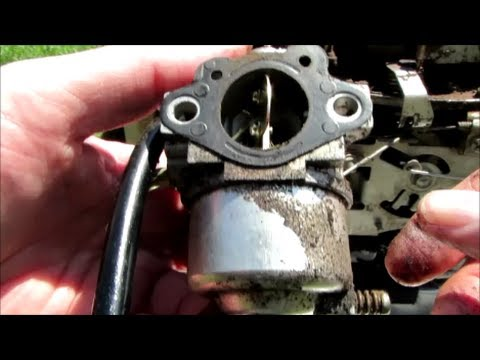 "John Deere 21"" Lawn Mower Model 14ST Kawasaki 5HP - Carburetor Cleaning Part II - August 24, 2013"