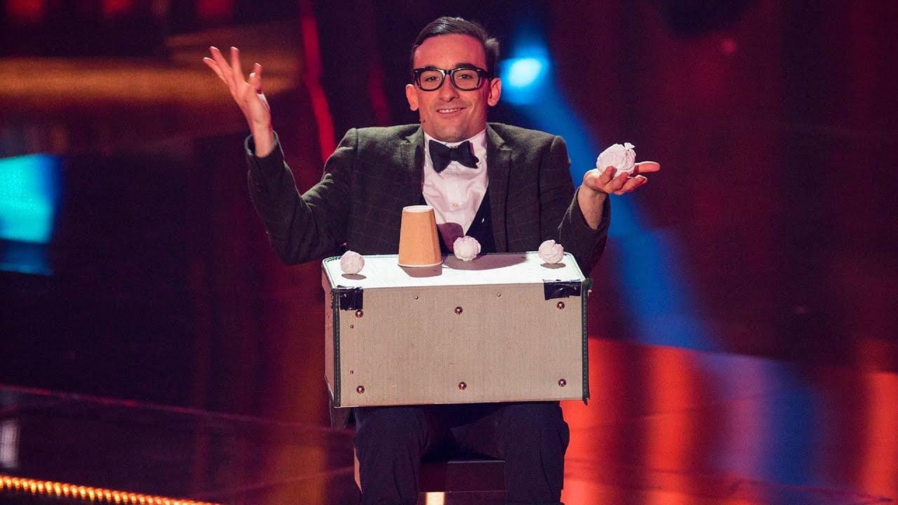 Erwin Aus Der Schweiz Comedy Und Zaubern 2 Halbfinale