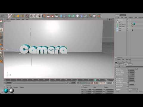 Cinema 4D Tutorial: How to use the Camera tool