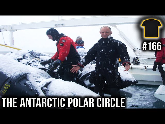 Scuba Diving In The Antarctic Polar Circle | Chris Thrall | Bought The T-Shirt Podcast #166