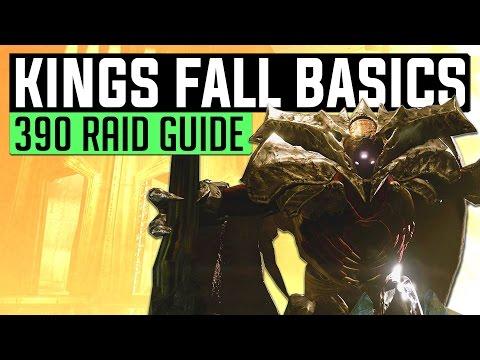 Destiny | KING'S FALL BASICS! - Year 3 Kings Fall: Full Guide (Age Of Triumph 390 Raid Tutorial)