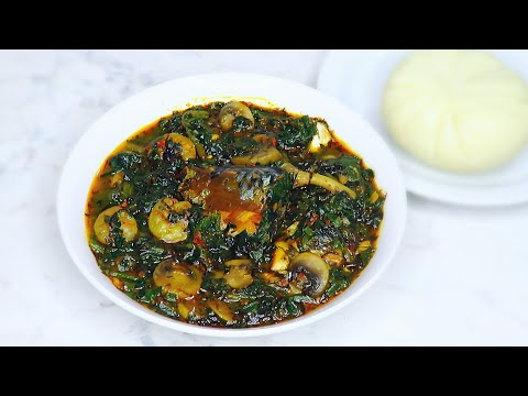 Fish and mushrooms vegetable soup  Very quick easy and so delicious
