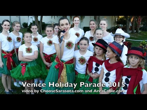 Venice Holiday Parade 2015 in 4k UHD