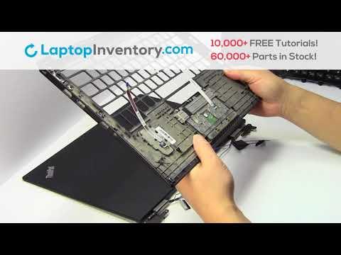 Lenovo Thinkpad X1 Touchpad Installation Palmrest