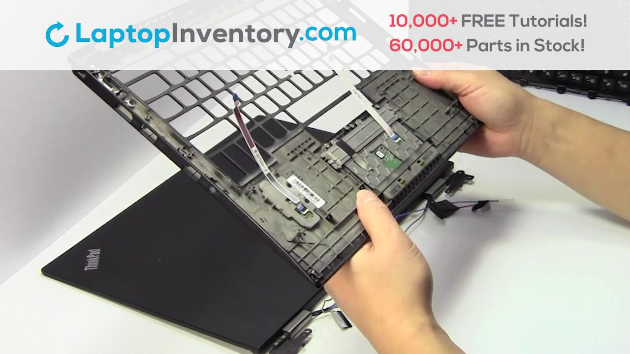 Lenovo Thinkpad X1 Touchpad Installation Palmrest Replacement Disassemble  20FB 20FC NSK-Z