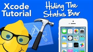XCode 5 Tutorial Hiding The Status Bar IOS 7 - Geeky Lemon Development