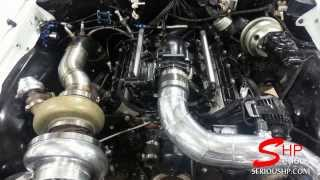 72' CHEVELLE LSXR Engine Single Turbo E38 ECU 4L80 Transmission Tuned by Serious HP