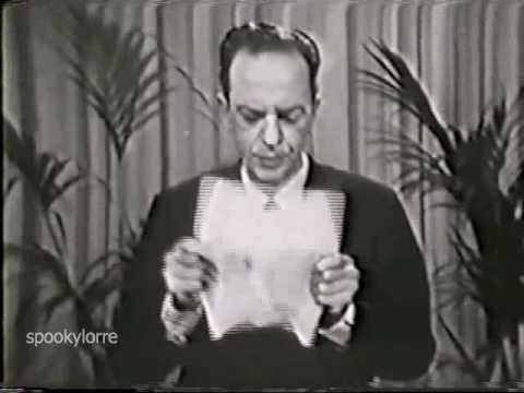 DON KNOTTS lectures on a New Tranquilizer
