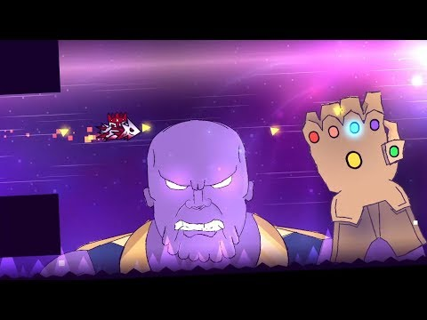 Thanos 100% - (Extreme Demon) -  By Aglis and more - Geometry Dash