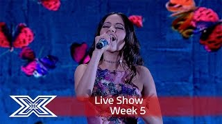 Emily lights up the world with What Makes You Beautiful | Live Shows Week 5 | The X Factor UK 2016
