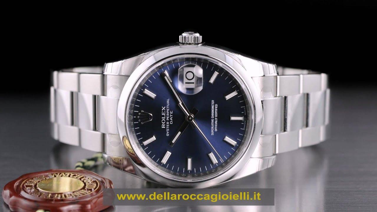 badbf108ad5 Rolex Date 115200 vendita Rolex Date prezzo Rolex Date Orologio usato prezzi