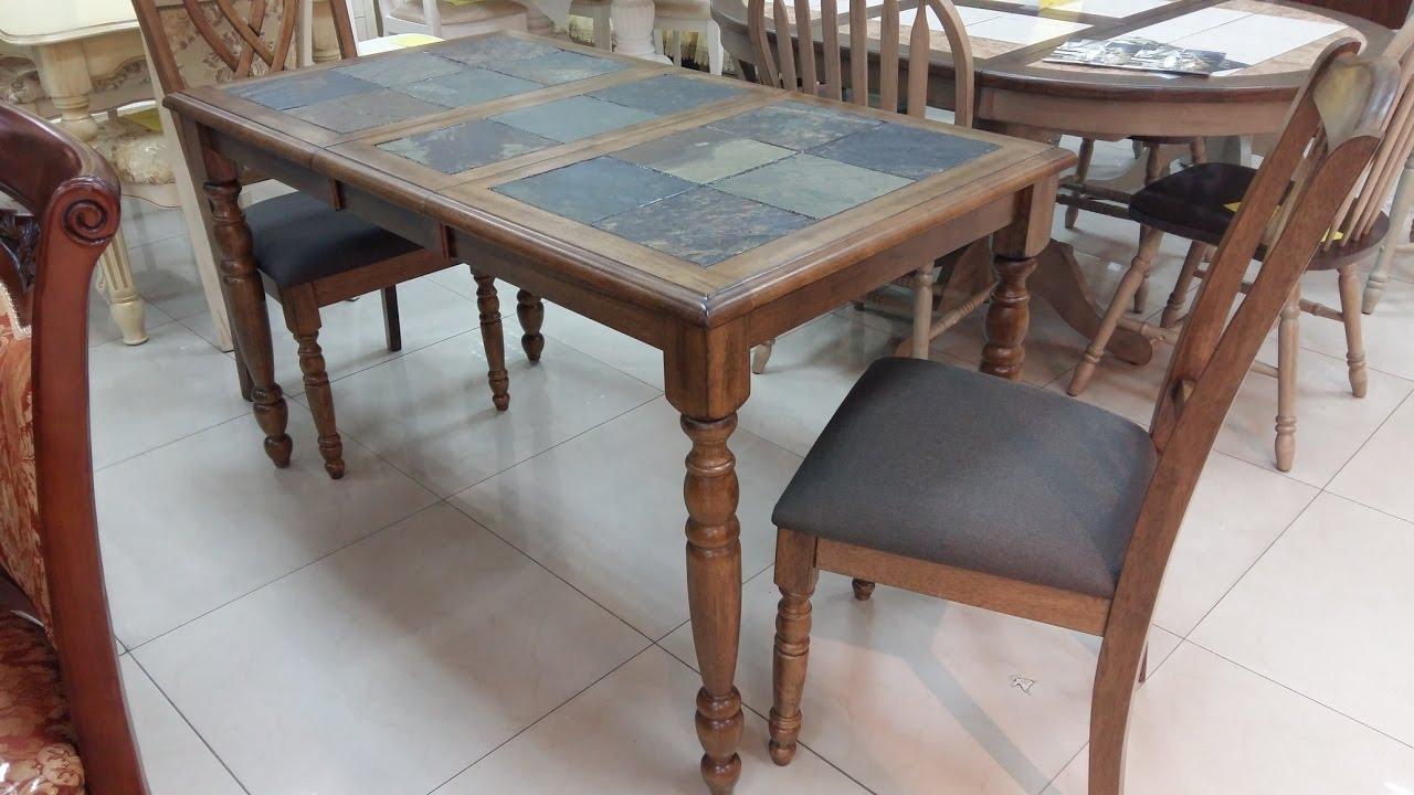 Обеденные и журнальные столы со столешницами из кафеля столешница для кухни 900 38