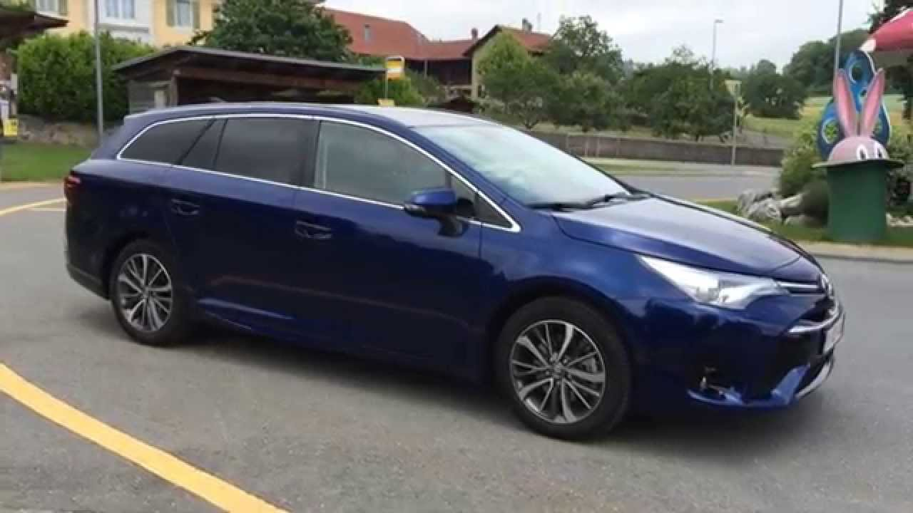 2015 toyota avensis touring sports youtube. Black Bedroom Furniture Sets. Home Design Ideas