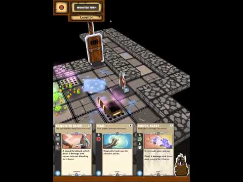Card Dungeon gameplay!