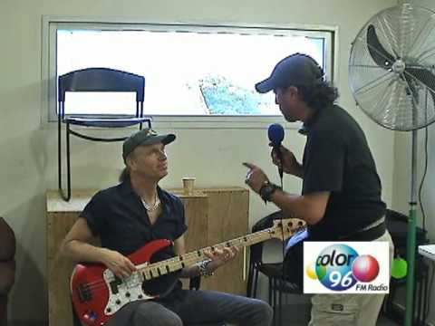 Entrevista a Billy Sheehan en Tampico / Billy Sheehan interview in Tampico