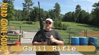 Shooting the Galil Rifle (Golani)