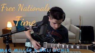 Free Nationals, Mac Miller, Kali Uchis - Time cover