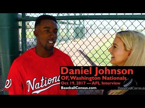 Daniel Johnson, OF, Washington Nationals — October 19, 2017 Interview