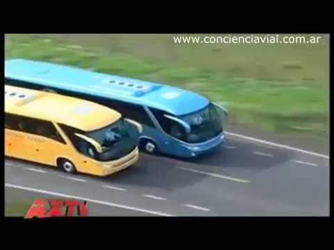 Viajes en colectivo: cinturón, elección de asientos más seguros, etc