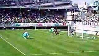 2007年11月11日、鳥栖スタジアム。 とっとちゃん&ウィントス君VS仮面ラ...