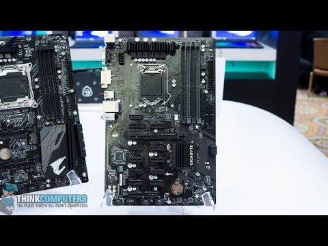 Gigabyte's Crypto-currency Mining Motherboard! - B250-FinTech