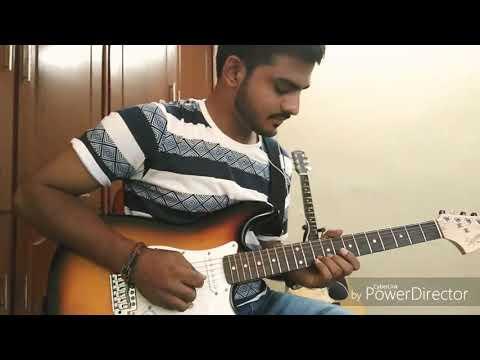 Emannavoo song electric guitar cover / Enna solla song / Navamanmadhudu / thangamagan / Anirudh
