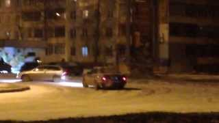 Samara First snow drift and stupid comments /Самара дрифт