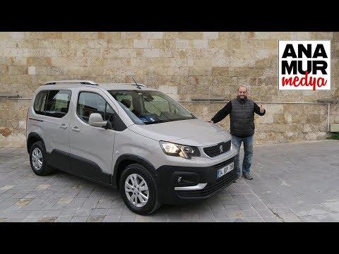 Peugeot Rifter 2019 Test ve Gaziantep Seyahati Vlog