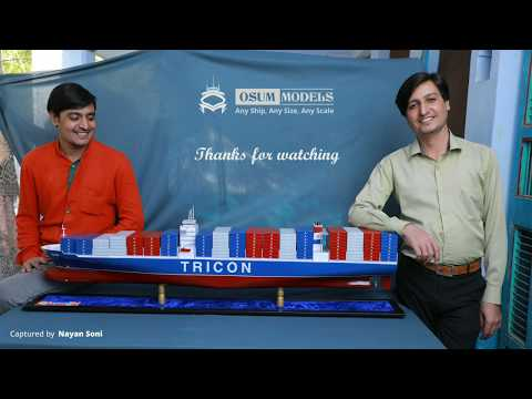 Container Vessel Model